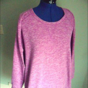 Super soft cozy hot pink lounging tunic or sweats